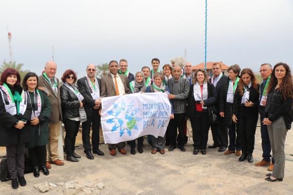 بلدية أريحا تستقبل وفدا برتغالي من مجموعة بلديات من أجل السلام
