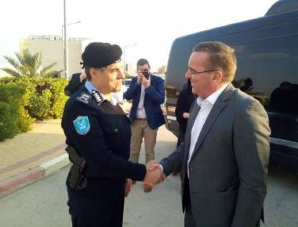 اللواء عطا الله يستقبل وزير داخلية ولاية ساكسونيا الدنيا الألمانية في أريحا