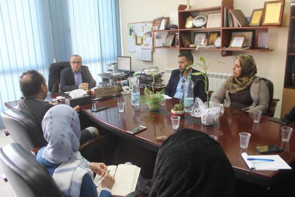 جامعة فلسطين الأهلية ومحافظة بيت لحم تبحثان آفاق التعاون المشترك