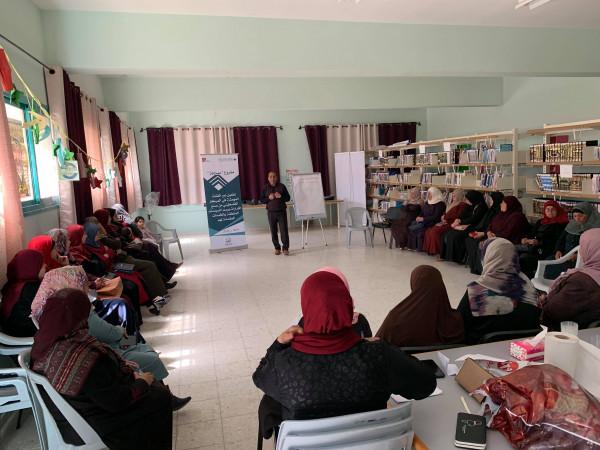 المركز الفلسطيني يعقد لقاءا مع مكوناته الأساسية في صوريف