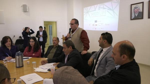 الاغاثة الزراعية الفلسطينية تنظم ورشة عمل لاطلاق مشروع الترويج للريادة المجتمعة