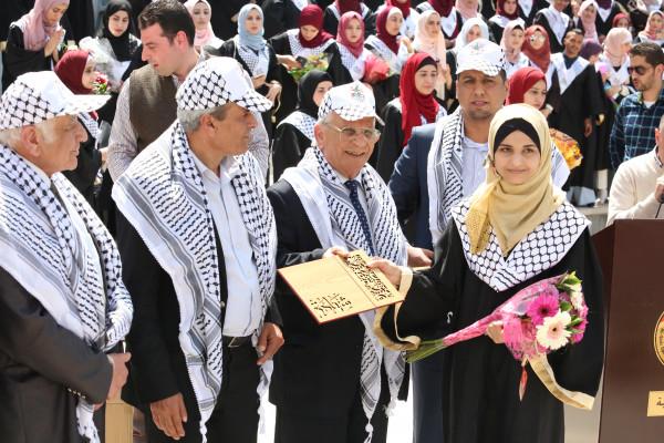 """""""القدس المفتوحة"""" تكرم الطلبة المتفوقين بقلقيلية"""