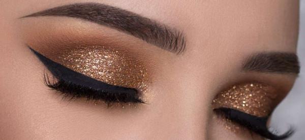شاهدي: الكحل الذهبي لأعين أكثر اتساعا
