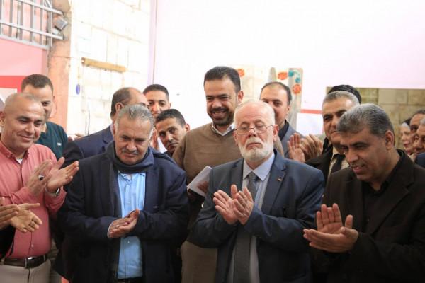 شبيبة قلقيلية ومدرسة مدرسة الاسراء تنفذان فعاليات خالد بذاكرتنا وفاءً للشهداء والأسرى