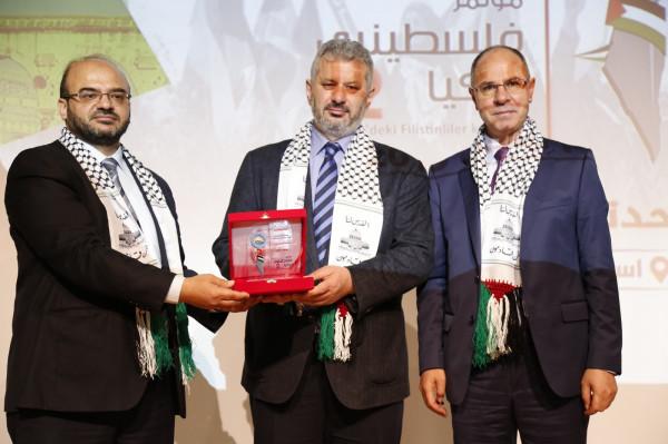 انطلاق فعاليات مؤتمر فلسطينيي تركيا الثاني في إسطنبول