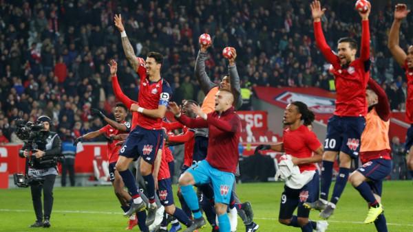 شاهد: باريس سان جيرمان يتلقى هزيمة مذلة أمام ليل في الدوري الفرنسي