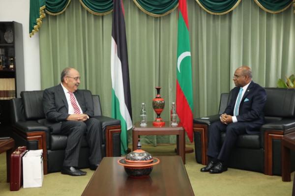 وليد أبو علي سفير دولة فلسطين لدى جمهورية المالديف