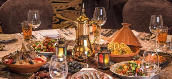 أفكار لأشكال شموع مائدة رمضان