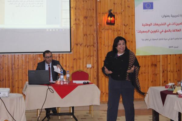 الضمير لحقوق الإنسان تفتتح دورة تدريبية بعنوان تعزيز قدرات المحامين بالتشريعات الوطنية