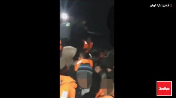 فيديو حصري من قوارب الموت.. كيف يصل الغزيون إلى اليونان؟