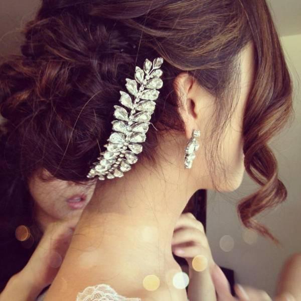 تسريحة الكعكة للعرايس أجمل ستايلات الشعر المرفوع