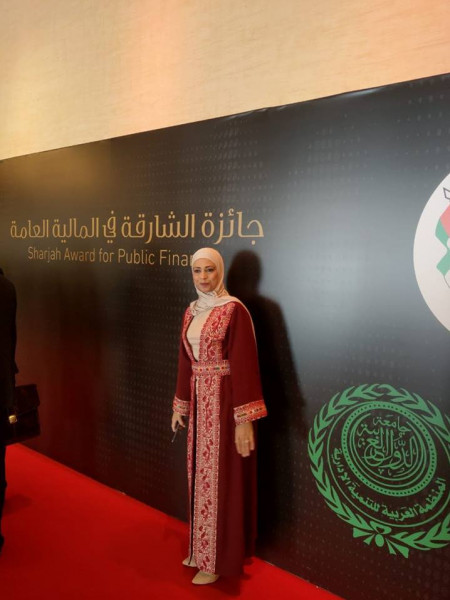 هنادي براهمة تحصل على جائزة أفضل مدير موازنة عربي في الوطن العربي