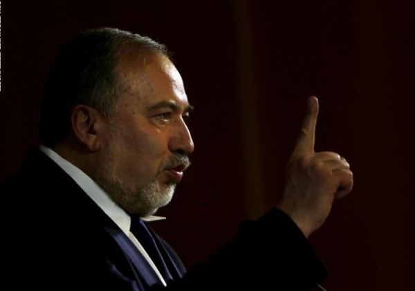 lieberman recommends that netanyahu be commissioned to form the next government, but on condition