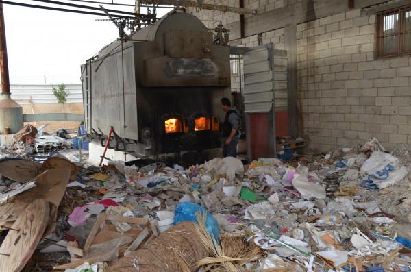 مركز معا التنموي: (بيبربال) أول مصنع فلسطيني ينتج الورق من سعف النخيل