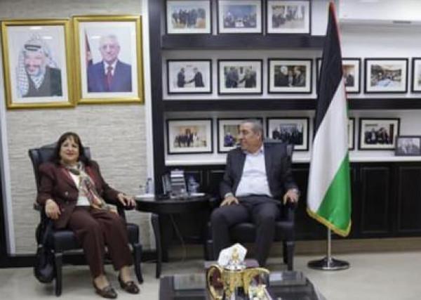 وزيرة الصحة تبحث مع الشيخ تعزيز التعاون لخدمة المرضى