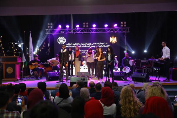 """""""التعليم العالي"""" تنظم مهرجان الطالب الفلسطيني الرابع للثقافة والفنون بجامعة القدس"""
