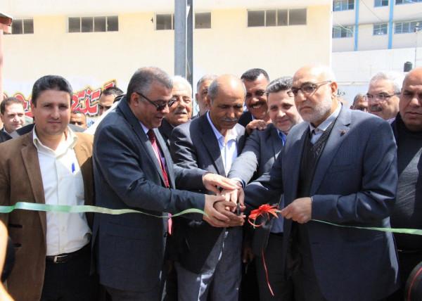 افتتاح حديقة البيارة الحادية والثلاثين في مدينة بيت حانون