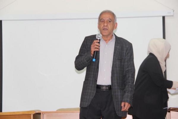 تربية قلقيلية تنظم مسابقة الخط العربي