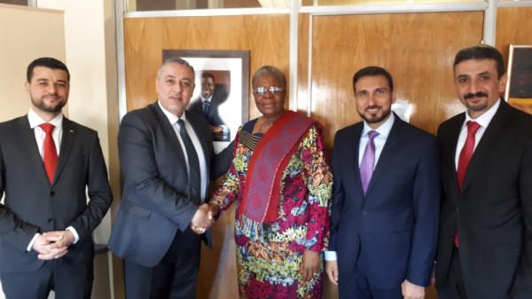 الخارجية: الوكالة الفلسطينية للتعاون الدولي تَمُدُّ جسور التعاون مع جمهورية ناميبيا