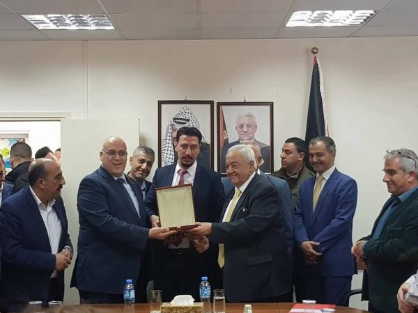 صندوق التشغيل يُكَرّم الوزير أبو شهلا بمناسبة انتهاء مهام عمله