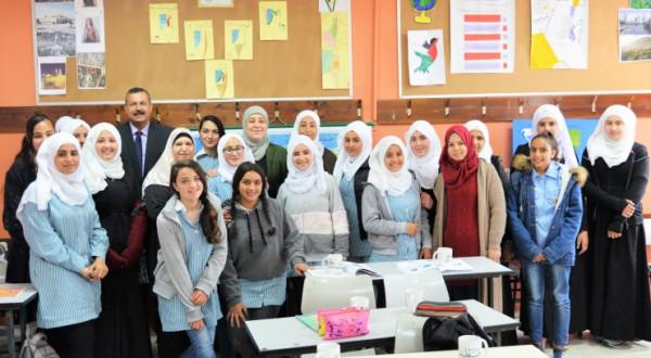 ليلى غنام: التعليم سلاحنا لبناء دولتنا المستقلة