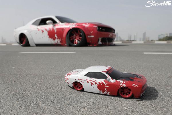 شاهد: سيارات ملطخة بالدماء في الإمارات