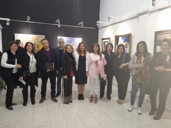 نجوم التشكيليين المغاربة يلتقون في معرض فني برواق لوشوفالي بالدارالبيضاء