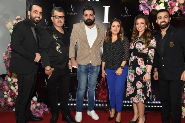 بحضور نجوم الفن والجمال والاعلام افتتاح صالون لورانس في دبي