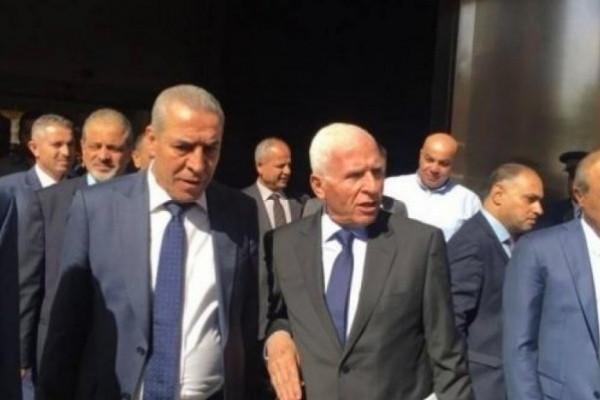 وفد حركة فتح يصل للقاهرة لبحث ملف المصالحة مع المسؤولين المصريين