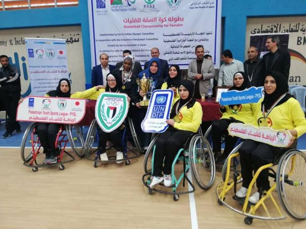 نادي السلام يتوج بكأس بطولة كرة السلة للفتيات