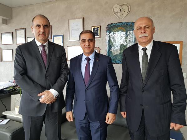 المذبوح يبحث مع الحزب الحاكم في بلغاريا تعزيز التعاون المشترك