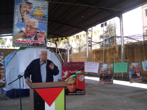 صيدا: اعتصام تضامني مع الأسرى في معتقلات الاحتلال الاسرائيلي