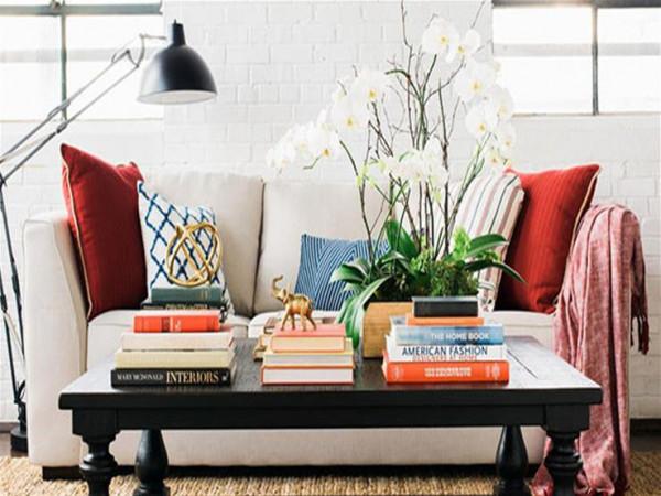 احصل على ديكور بسيط في المنزل باستخدام الكتب