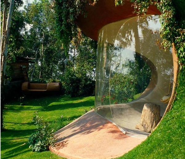 تصميم مذهل لمنزل يجعله غير مرئي