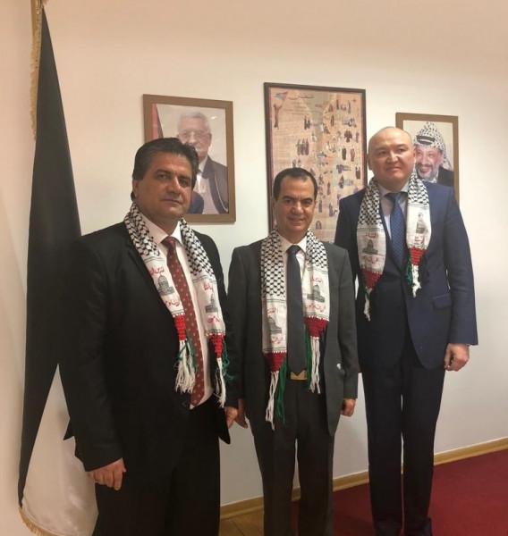 """السفير أبو زيد والأمين العام لسكرتارية """"سيكا"""" يبحثان عدد من القضايا"""