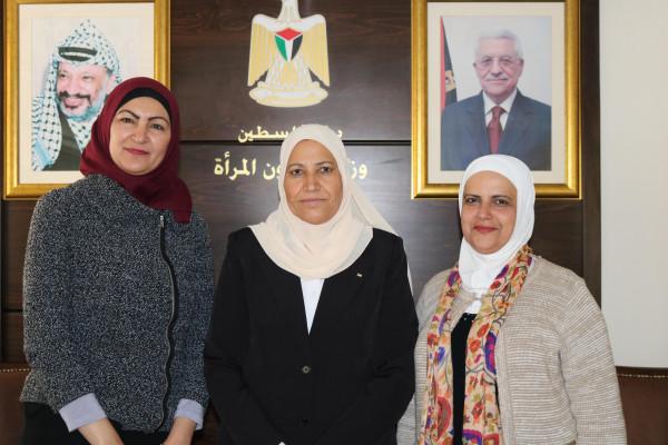 وزيرة شؤون المرأة تبحث آليات التعاون مع صندوق الأمم المتحدة للسكان