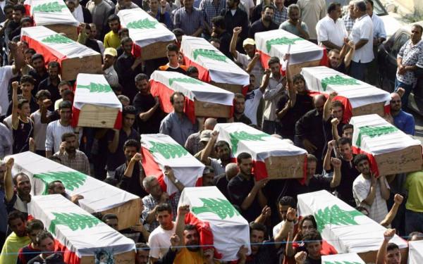 لبنانيون يحيون ذكرى مجزرة قانا والناجون يصفون لحظات الرعب