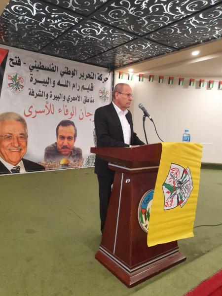أبو بكر: نعمل على كافة المستويات لفضح الانتهاكات الإسرائيلية تجاه الأسرى
