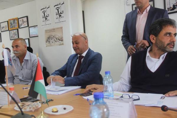 ابو هولي يشيد بالدعم الياباني للمخيمات الفلسطينية