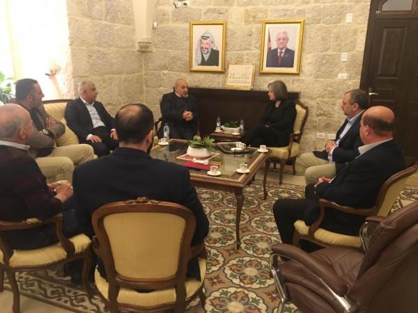 غرفة تجارة وصناعة محافظة بيت لحم تبحث سبل التعاون مع وزارة السياحة والآثار