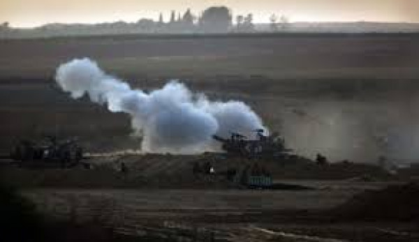 ردا على اطلاق نار على قوة عسكرية.. الاحتلال يقصف مواقع للمقاومة شرقي القطاع