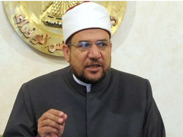 وزير الأوقاف المصري يدعو المساجد الابتعاد عن السياسة