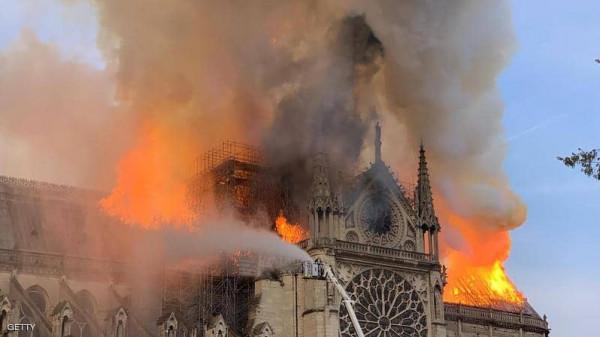 دولة عربية تقدم مساهمة مالية لترميم كاتدرائية نوتردام