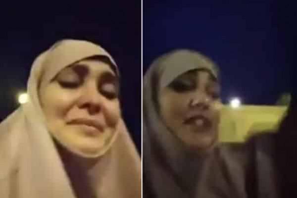 """""""إحنا نموت على شرفنا"""".. نائبة جزائرية تنهار باكية بعد محاولة تعريتها في الشارع"""