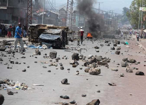 """تنظيم الدولة يتبنى أول هجوم له بالكونغو الديمقراطية ويعلن """"ولاية وسط إفريقيا"""""""
