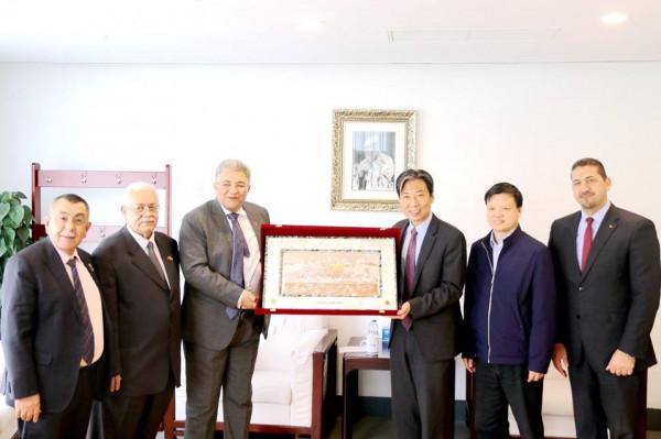 أبو كشك: معهد كونفوشيوس تطوير للتبادل الثقافي والتجاري بين الصين وفلسطين
