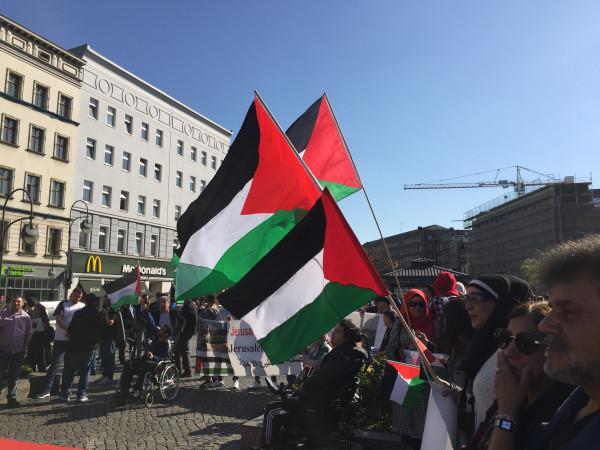 فعالية تضامنية في برلين مع الأسرى وإحياء ليوم الأسير الفلسطيني