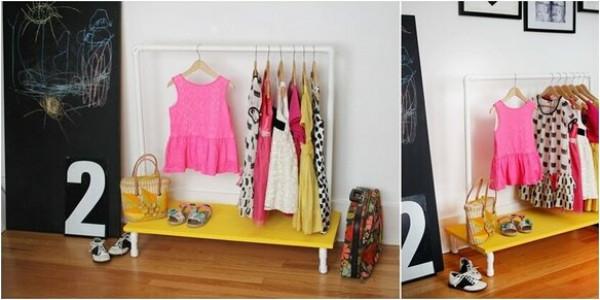 10 أفكار لترتيب الملابس في غرفة الأطفال