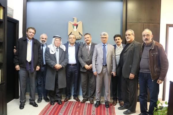 الوزير أبو سيف: مهمتنا تعزيز الثقافة الوطنية الفلسطينية
