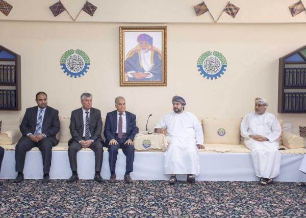غرفة تجارة وصناعة عُمان ومركز التجارة الفلسطيني يبحثان تعزيز التعاون